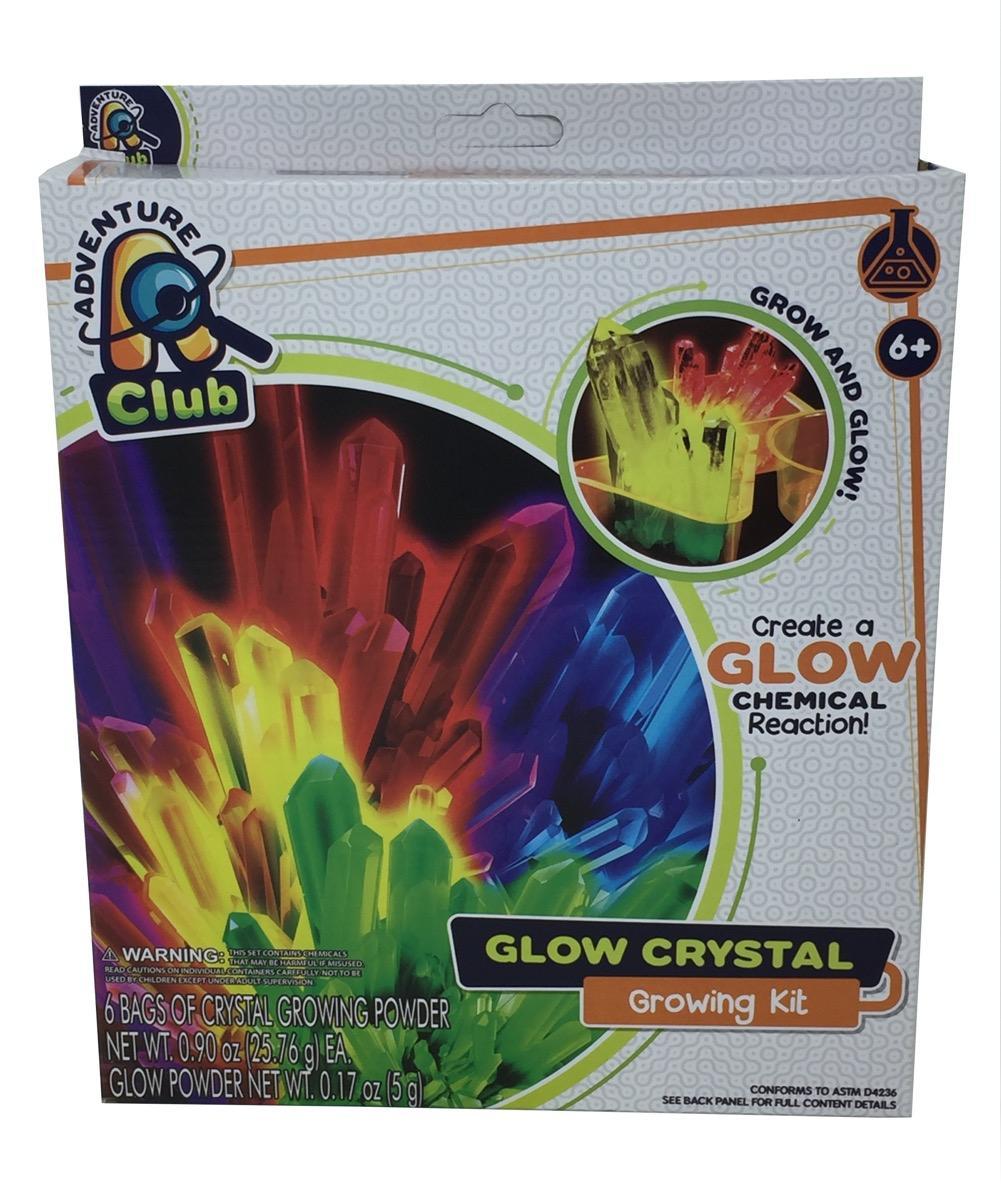 Glow Crystal Growing Kit