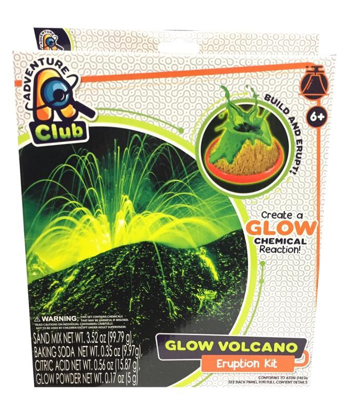 Adventure Club Glow Volcano Eruption Kit