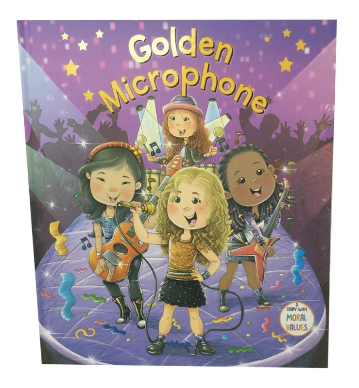 Golden Microphone Story Book