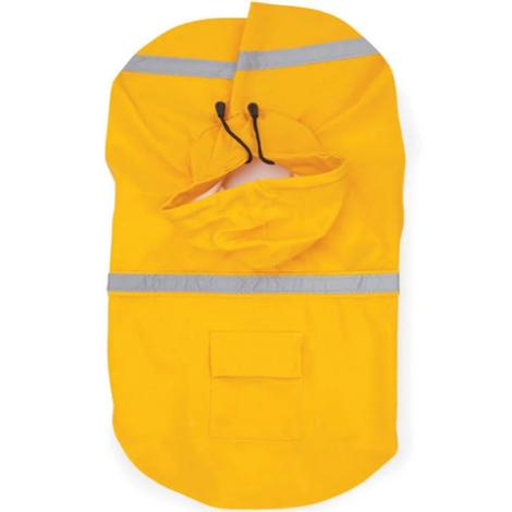 Dog Rain Coat XXS Yellow