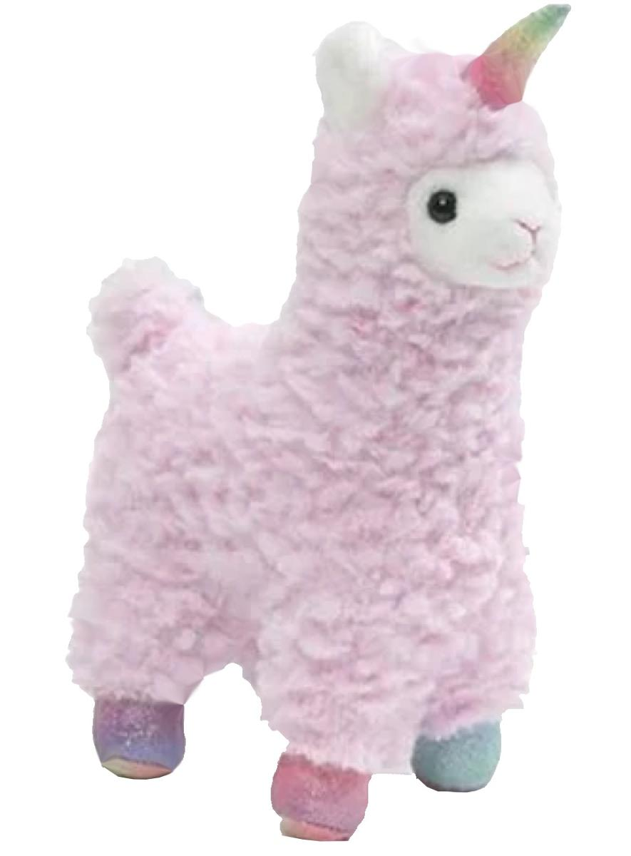 7 Inch Pink Llamacorn with Magical Sound