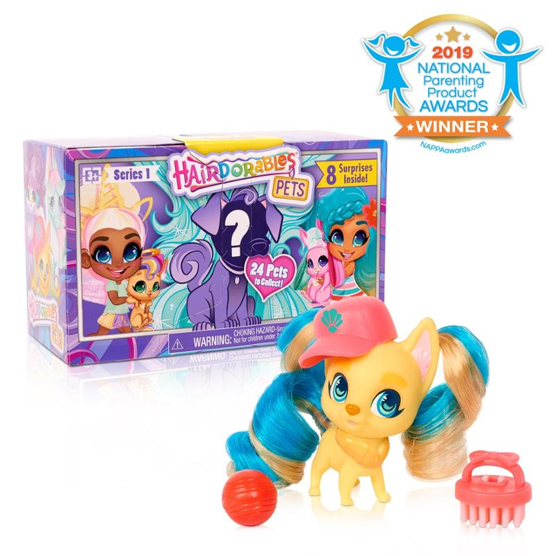 Hairdorables Collectible Pets Series 1