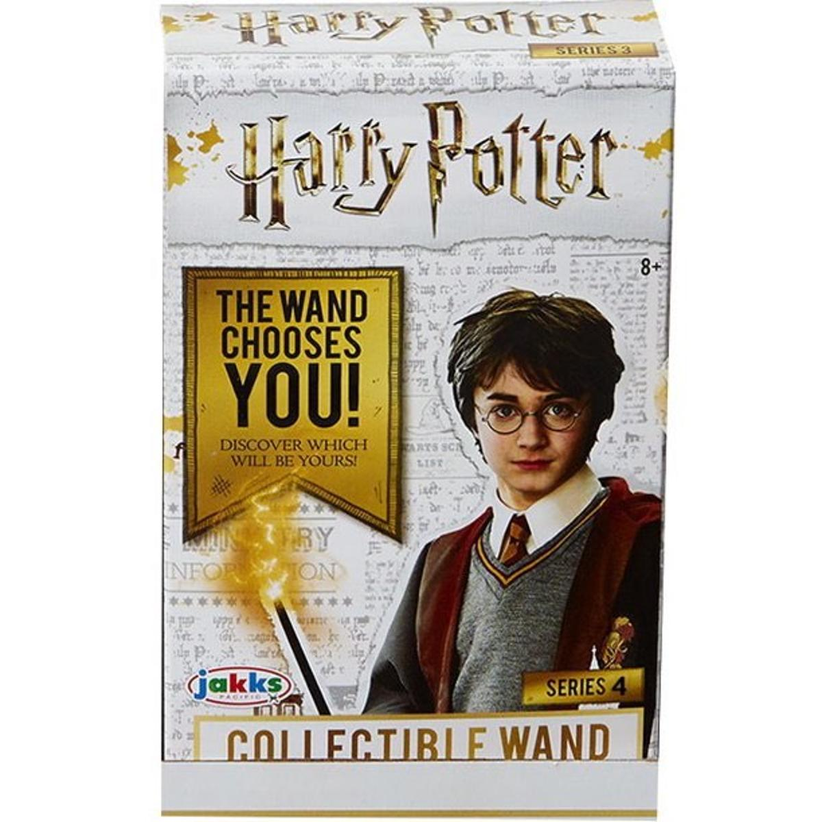 Harry Potter Die Cast Wands Series 4 Collectible Wand