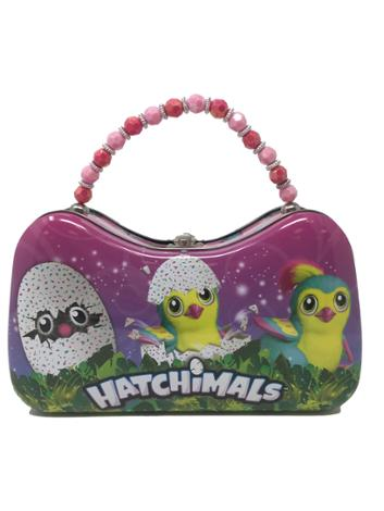 Hatchimals Tin Purse with Beaded Handle 3 Chicks