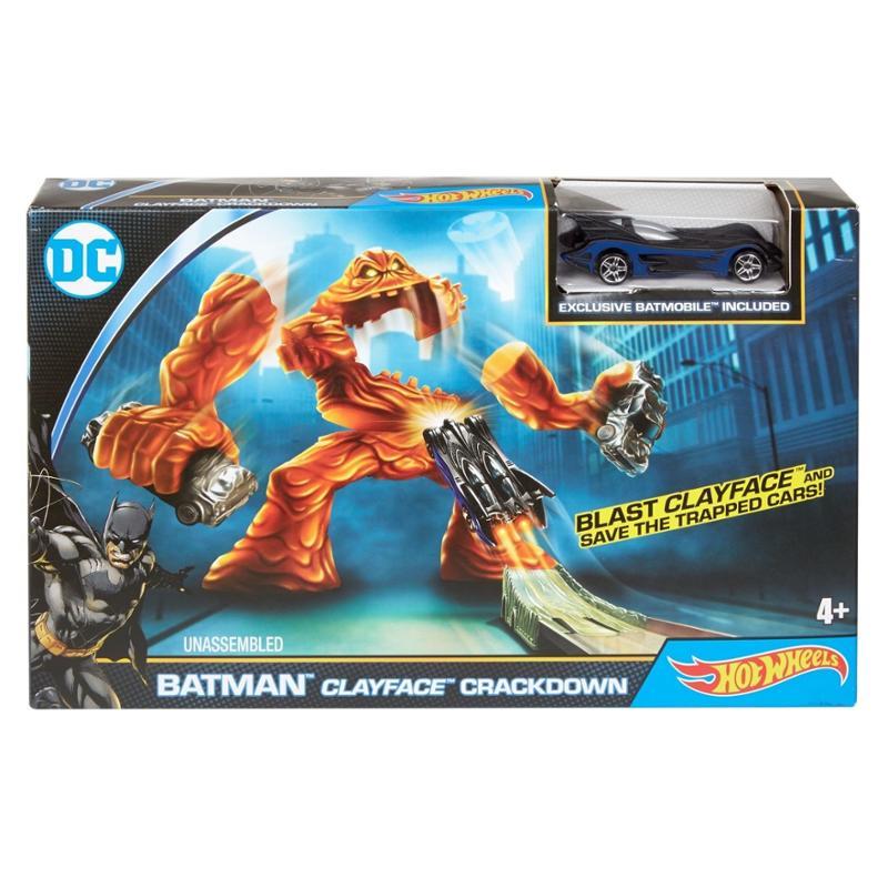 Hot Wheels Batman Clayface Crackdown