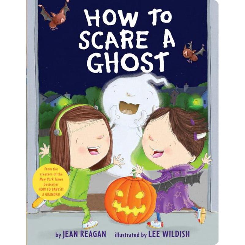 How to Scare a Ghost Halloween Board Book