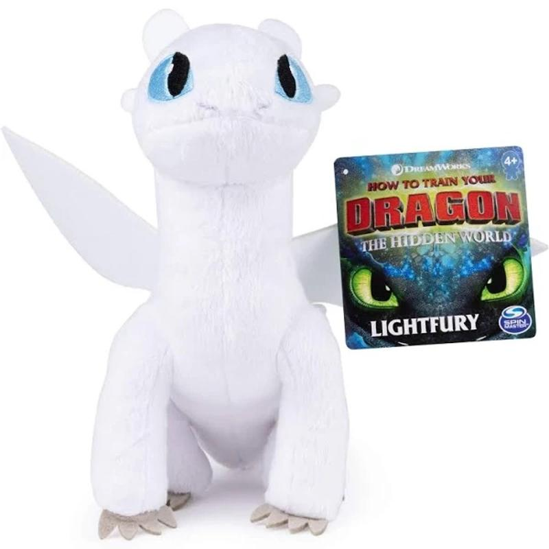 "How to Train Your Dragon: Hidden World - Lightfury 8"" Plush"