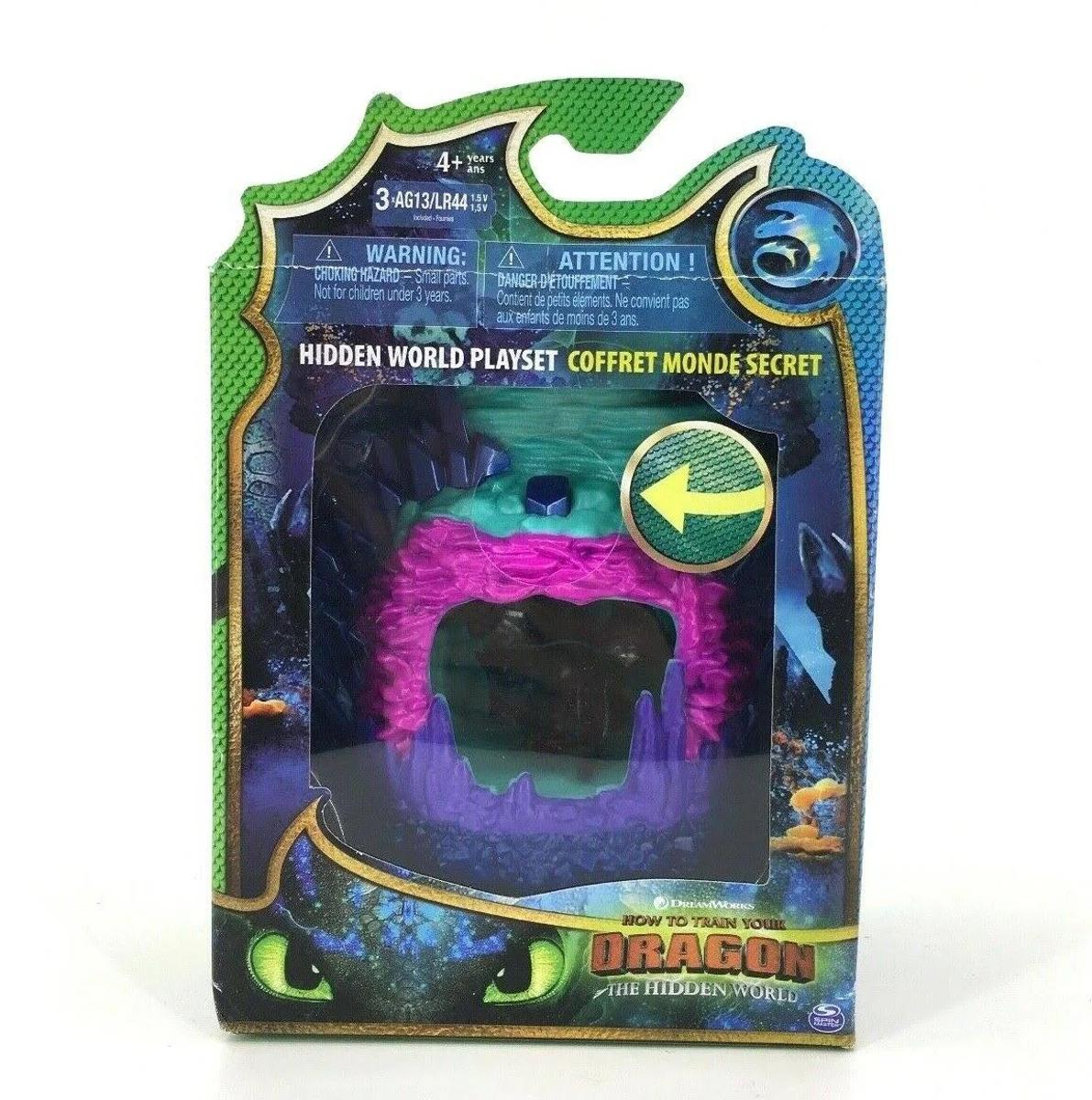 How To Train Your Dragon The Hidden World Playset