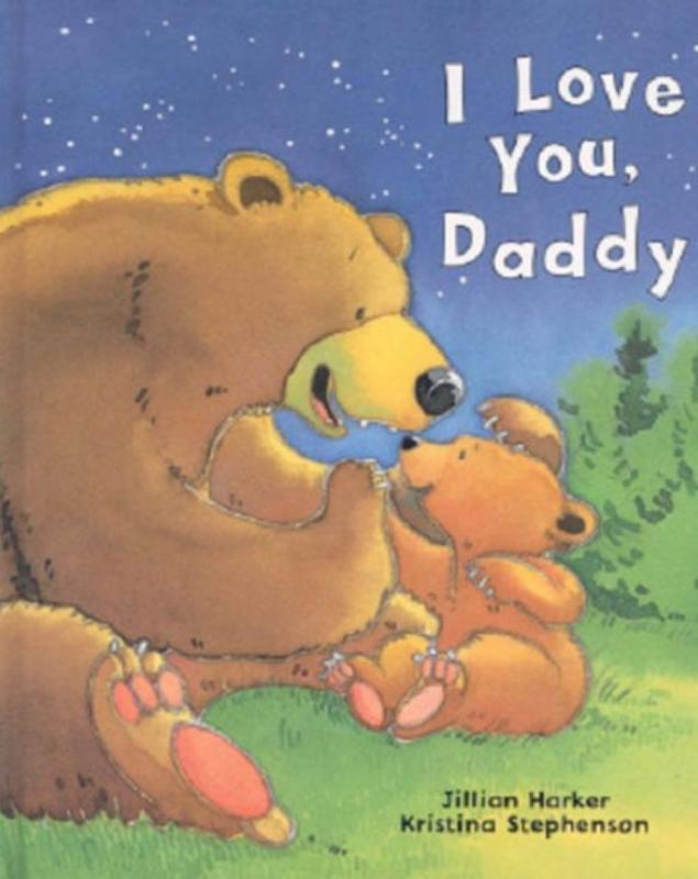 I Love You, Daddy Book