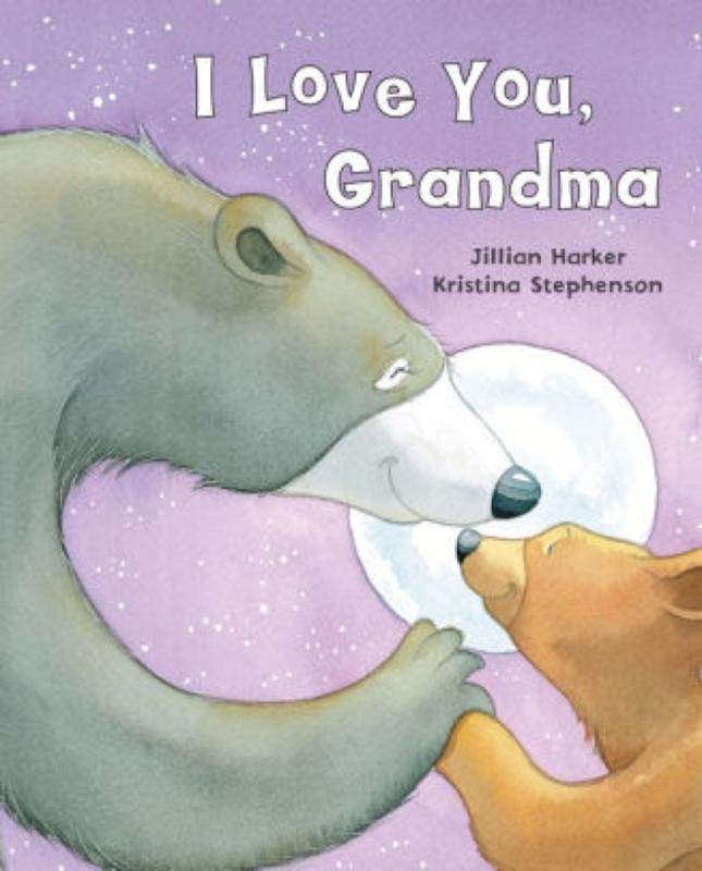 I Love You Grandma Book