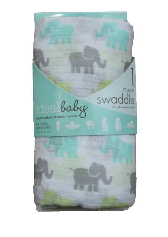 Tall Tale Elephant Swaddle Blanket