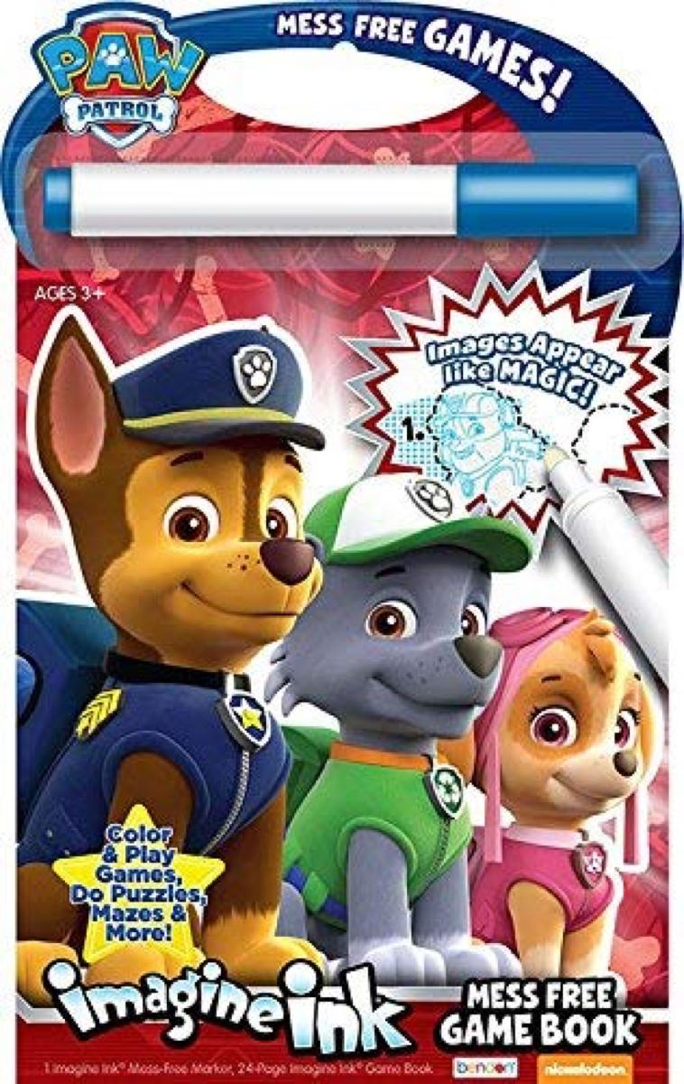 Imagine Ink Paw Patrol
