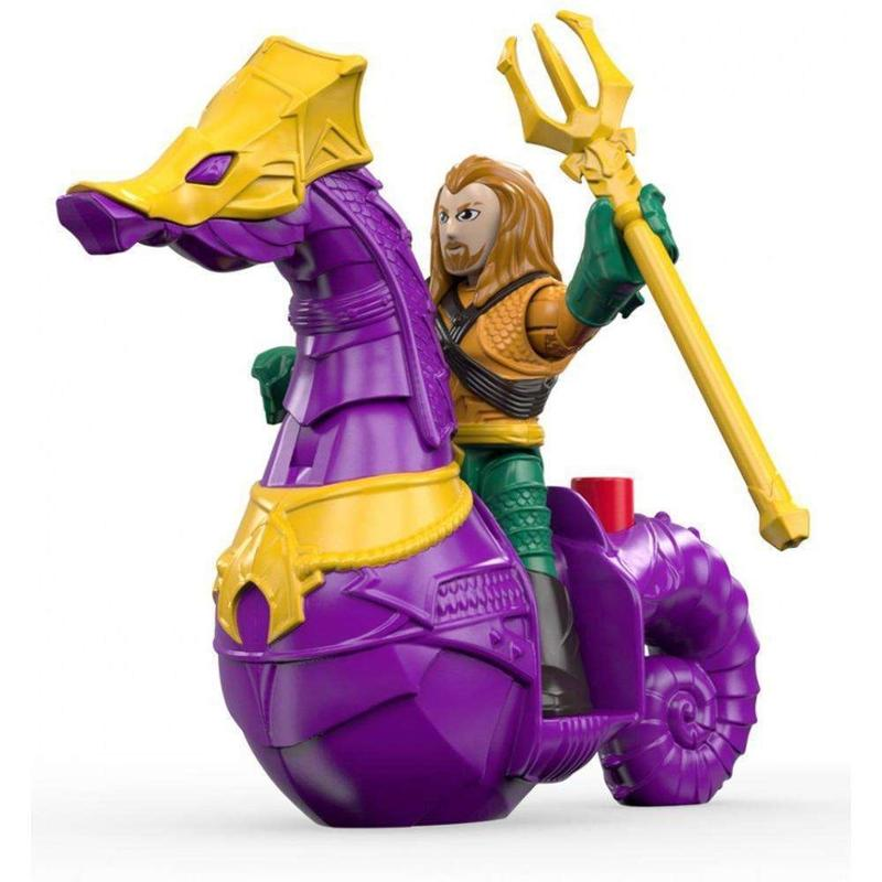 Imaginext Aquaman and Seahorse
