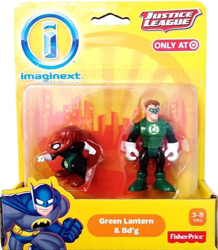 Imaginext Green Lantern and Bd'g