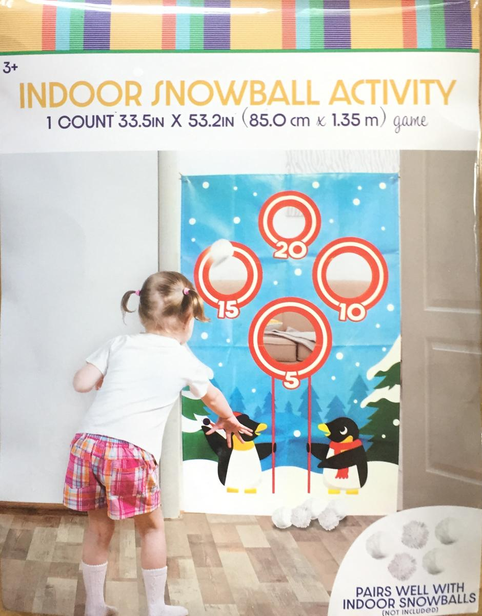Indoor Snowball Activity Set