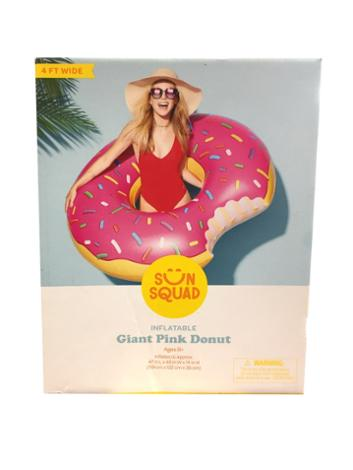 Inflatable Giant Pink Donut