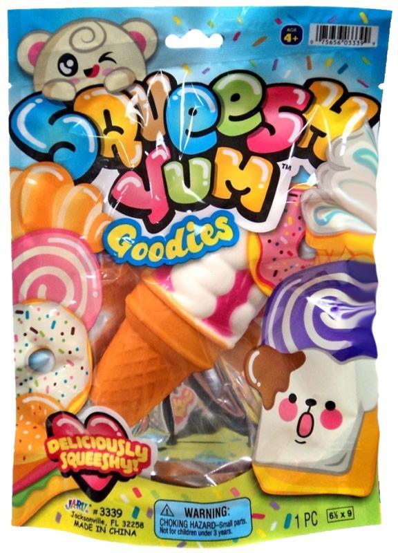 Squeesh Yum Goodies Creamy Cones