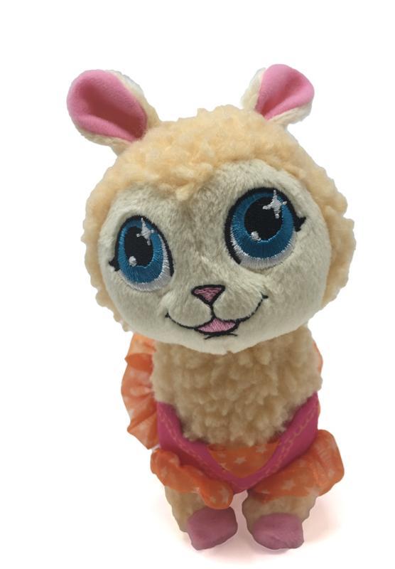 Twirly Llama 6 Inch Plush