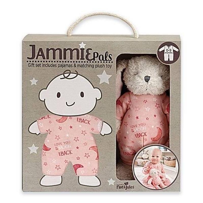 Jammie Pal Baby Pajama and Plush Toy Gift Set