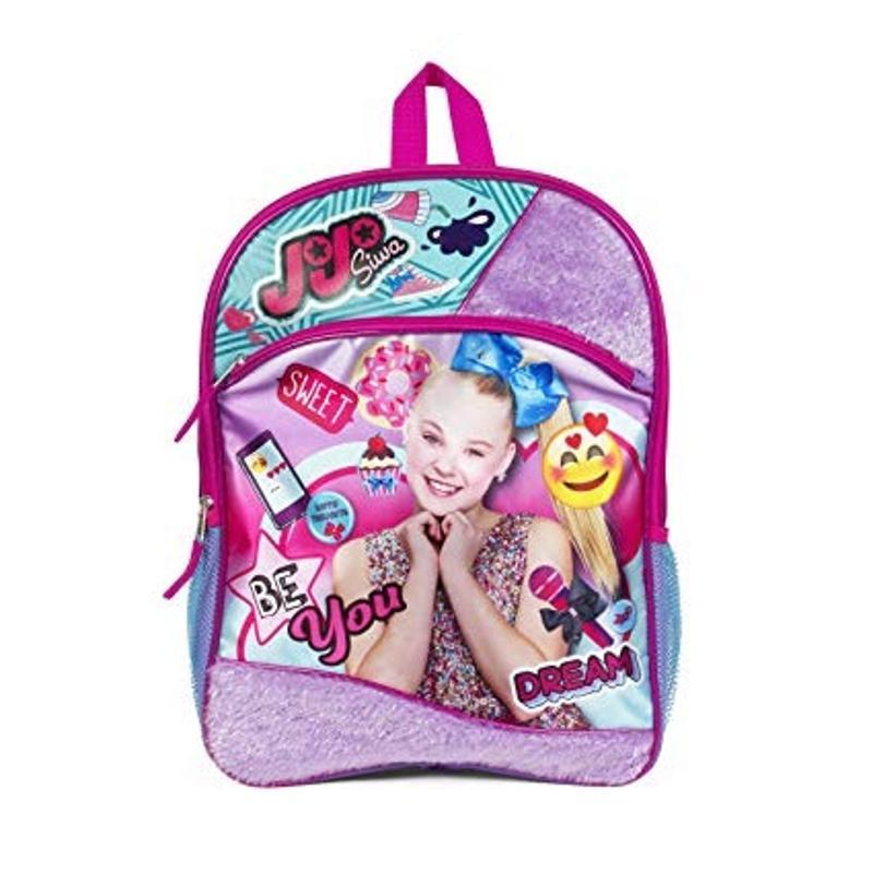 JoJo Siwa Backpack with Fur 16 Inch