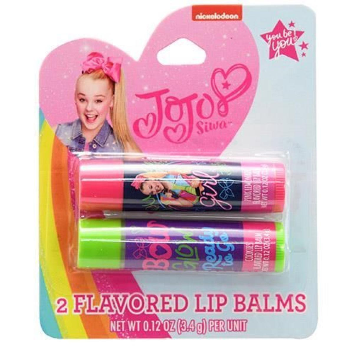 JoJo Siwa 2 Pack Lip Balm