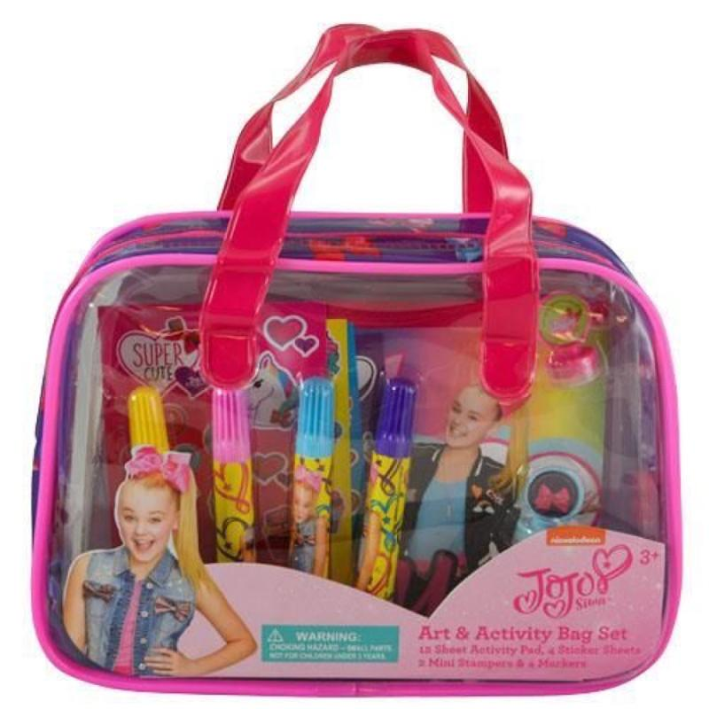 JoJo Siwa Art Activity Bag Set