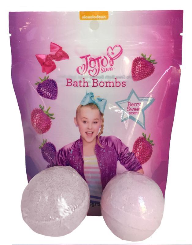 JoJo Siwa Bath Bombs, 2 Pack