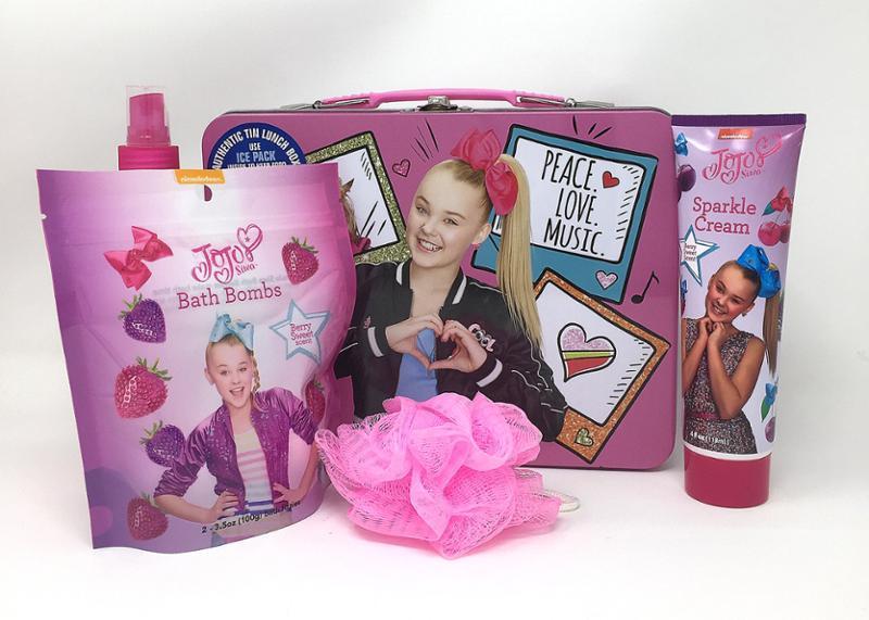 JoJo Siwa Bath Time Gift Set Bundle