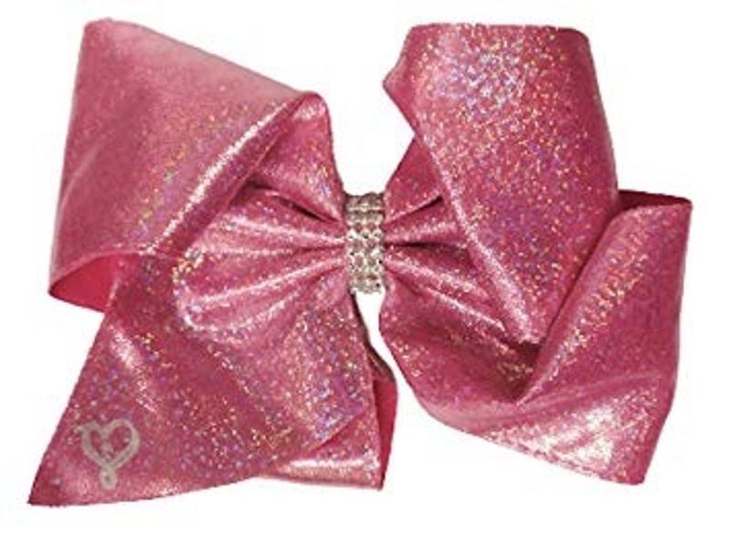 JoJo Siwa Glitter Pink Hair Bow