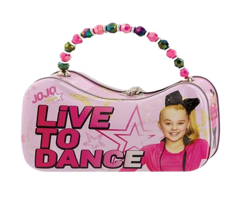 JoJo Siwa Live to Dance Tin Purse