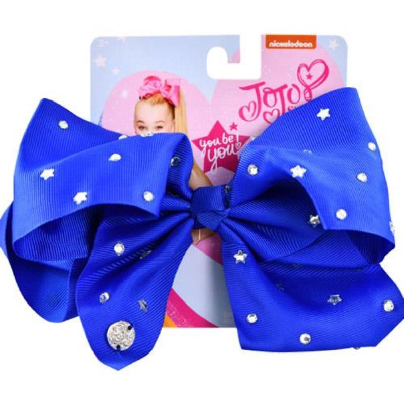 JoJo Siwa Navy Bow and All Over Star Stone