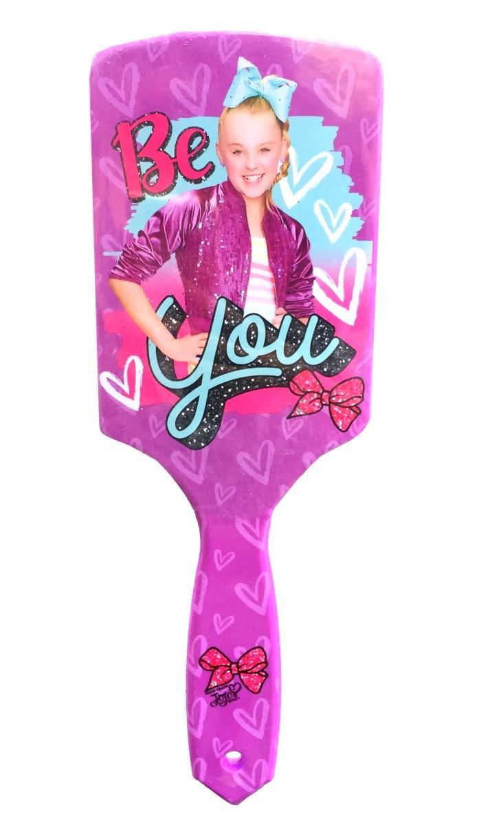 JoJo Siwa Purple Paddle Brush