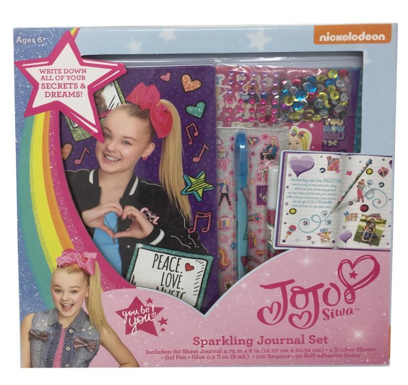 JoJo Siwa Sparkling Journal Set