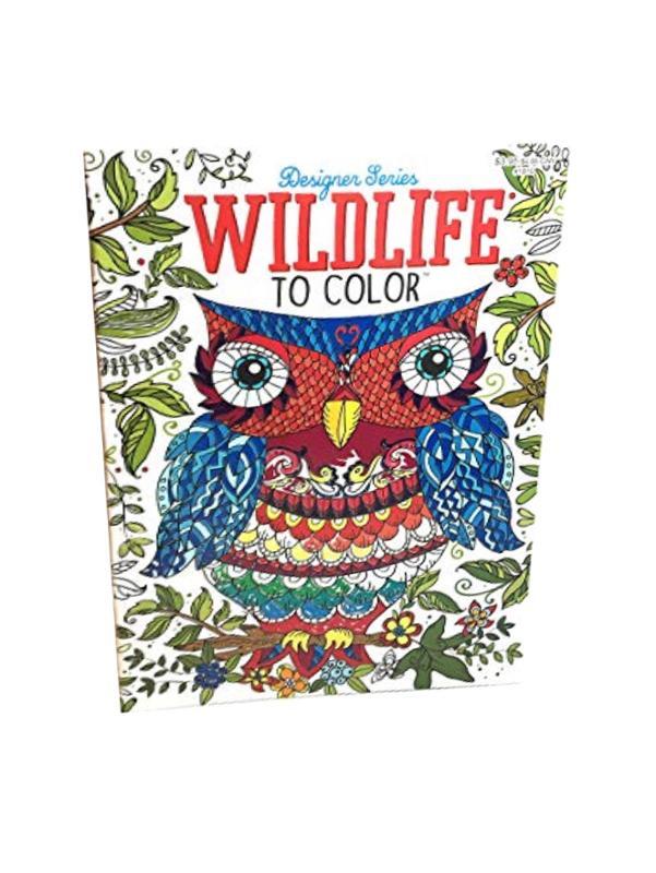 Joy of Coloring Wildlife