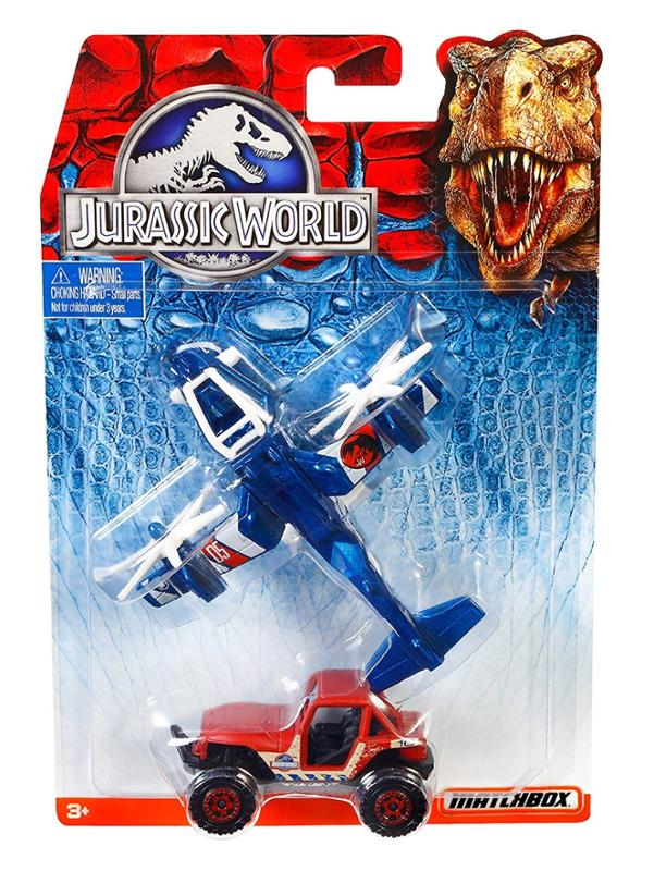 Jurassic World Land and Air Vehicle Collection