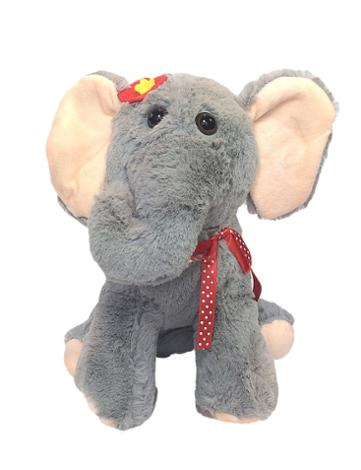 Kids Elephant Plush Handbag Purse