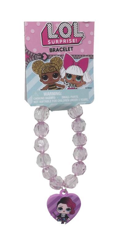 L.O.L.Surprise! Faceted Bracelet with Plastic Charm