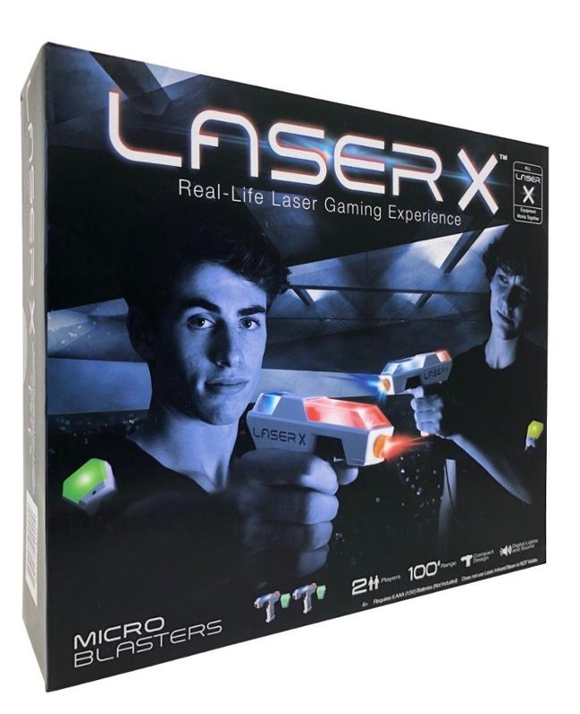 Laser x Laser Tag Micro Double Blasters