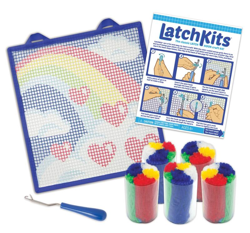 Latch Kit Rainbow