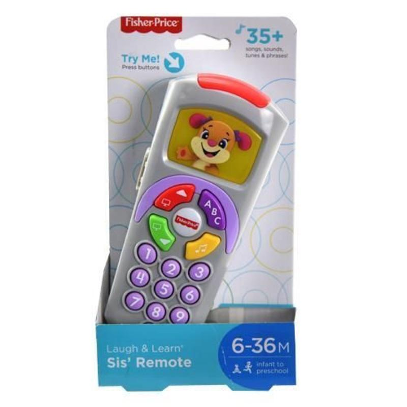 Laugh and Learn Fisher Price Sis' Remote Purple