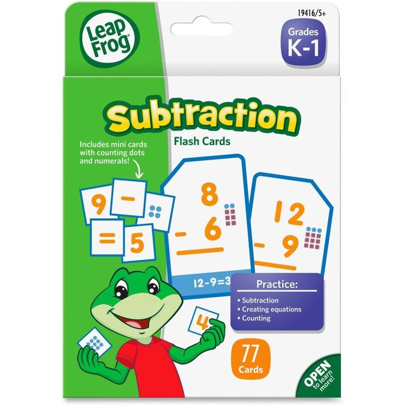 Leap Flash Card Subtract