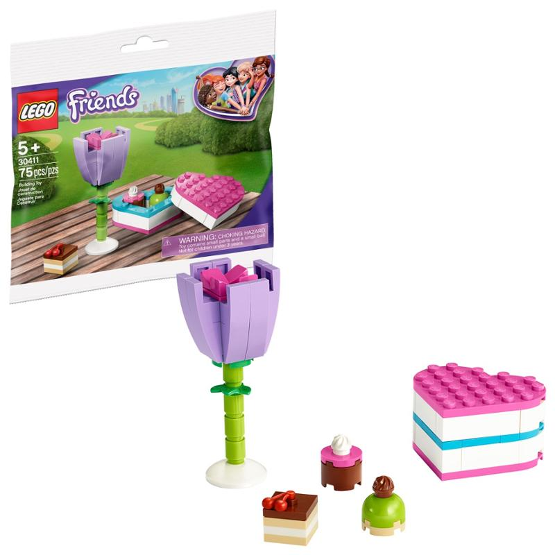 LEGO Friends Chocolate Box and Flower