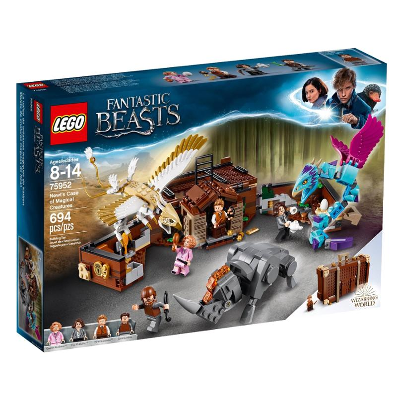 LEGO Harry Potter Newts Case of Magical Creatures