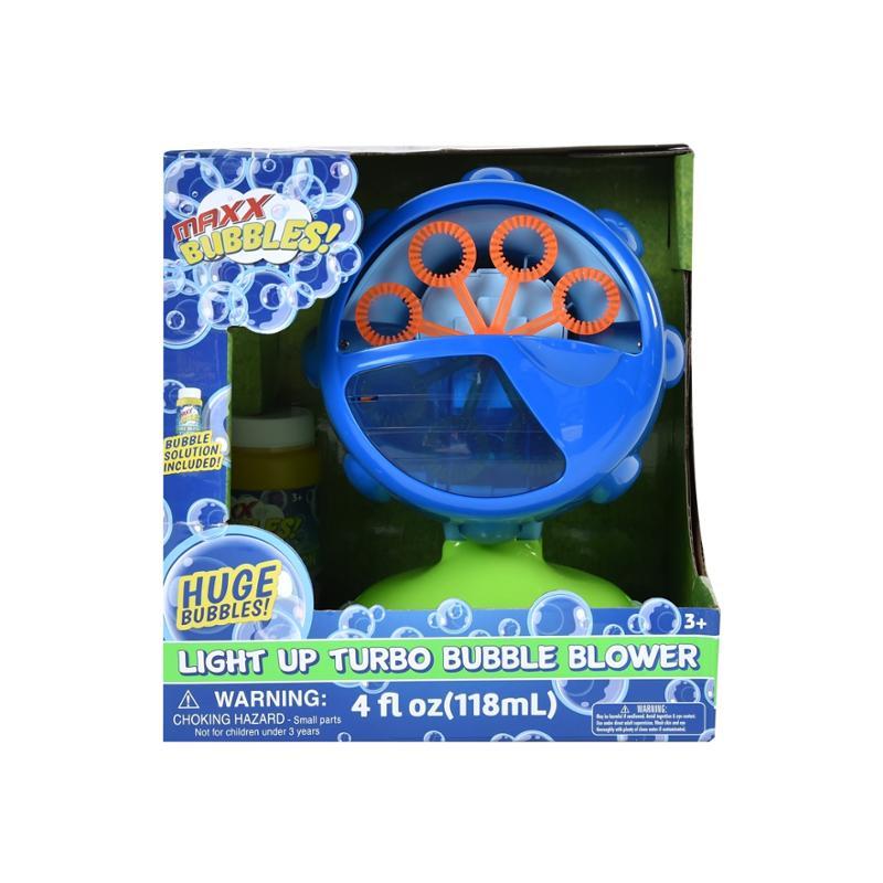 Light Up Turbo Bubble Blower