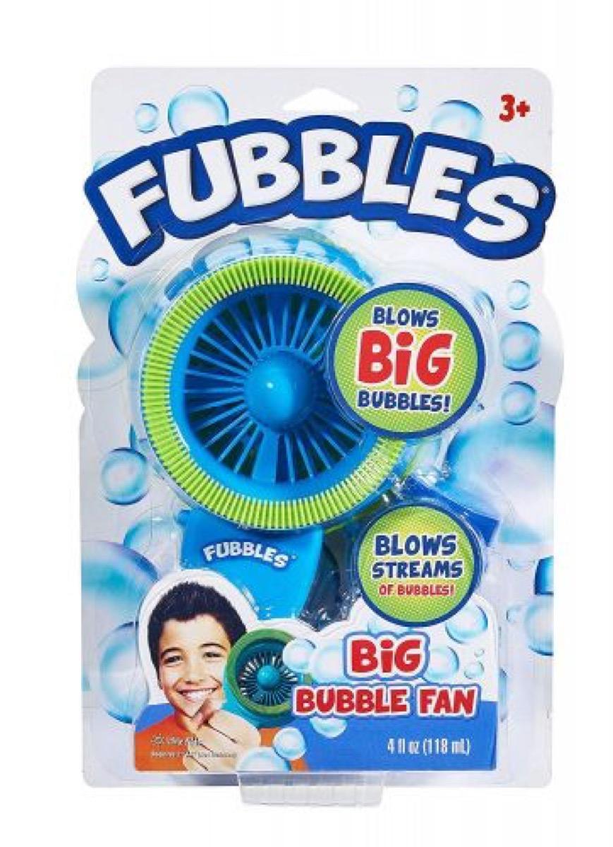 Lil Kids Fubbles Big Bubble Fan Blue