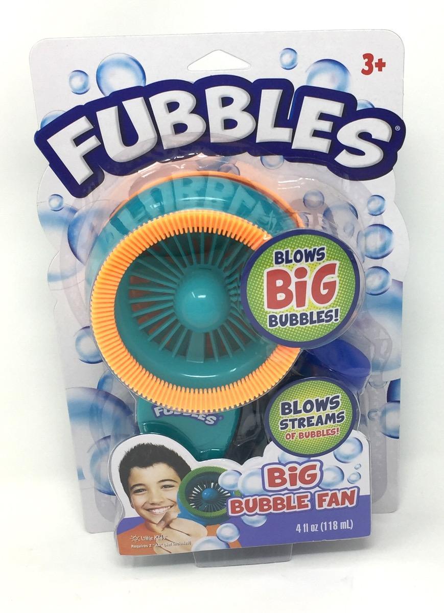 Lil Kids Fubbles Big Bubble Fan Green