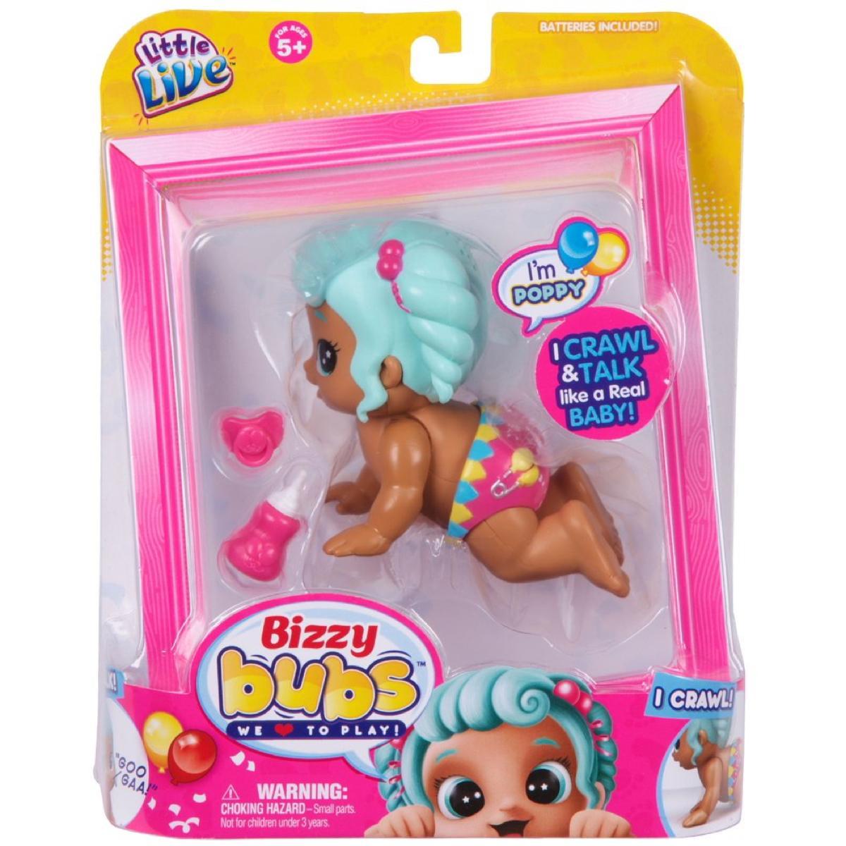 Little Live Bizzy Bubs Poppy