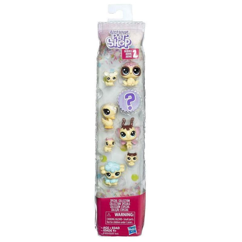 Littlest Pet Shop Special Collection Frosting Frenzy Friends Vanilla
