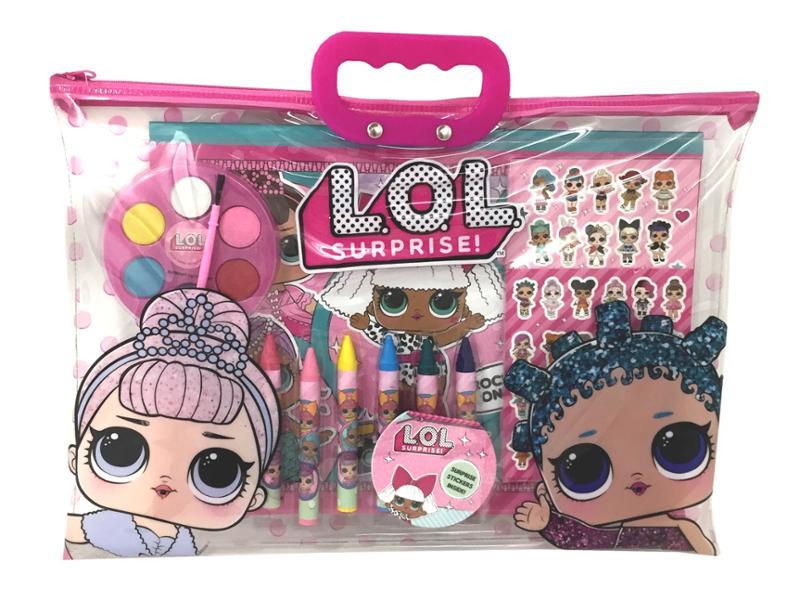 LOL Surprise! 12 Pc Paint Toto Set