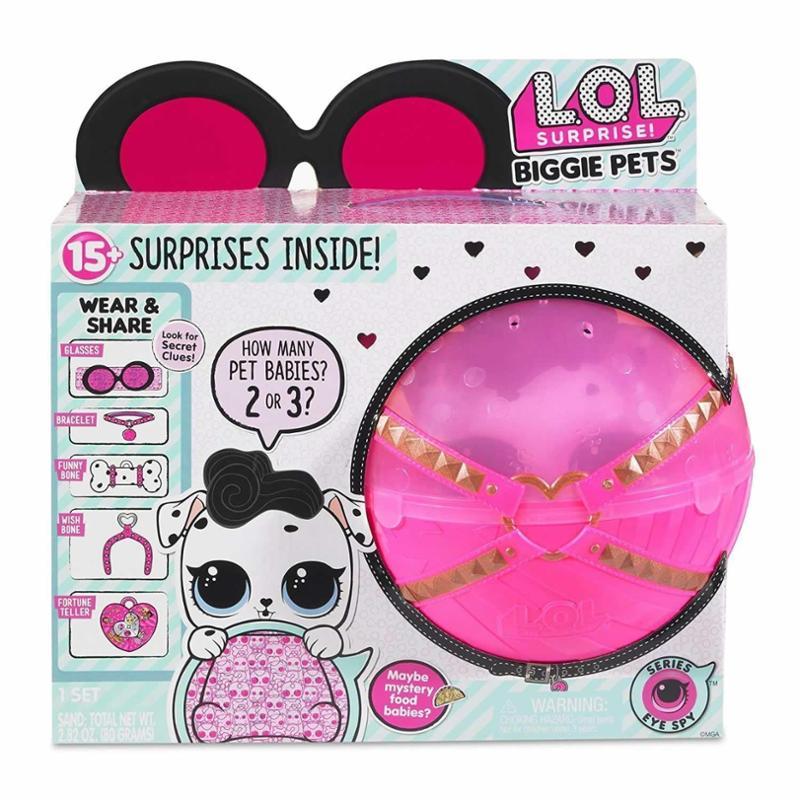 L.O.L. Surprise Eye Spy Dollmation Biggie Pets